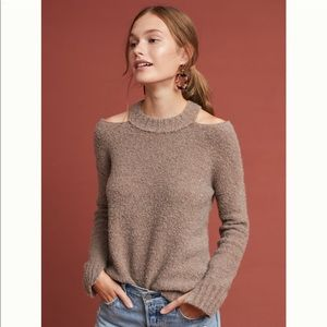 Anthropologie Moth Cut out sweater